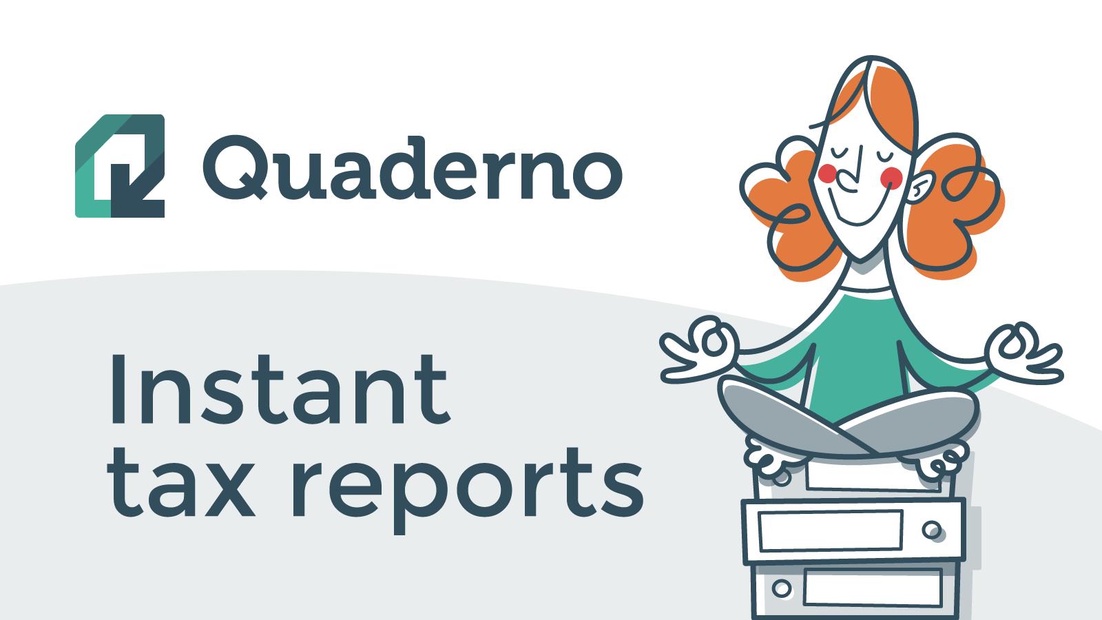 tax report app