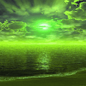 Green Weather Live Wallpaper icon