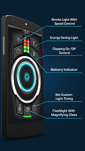 Flashlight - Torch LED Flash Light screenshot 4