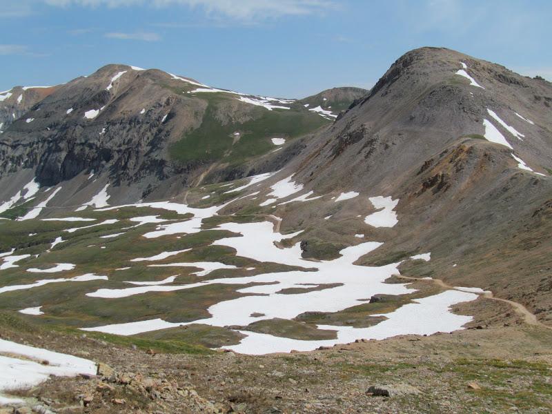 Photo: Unplowed road north of Black Bear Pass