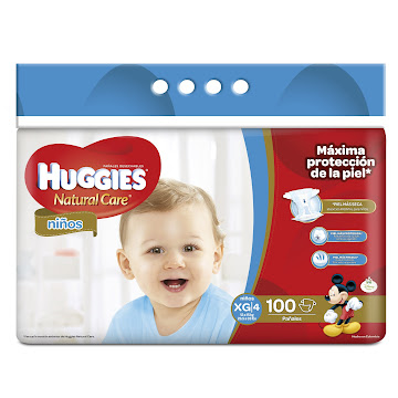 PAÑAL HUGGIES NATURAL CARE