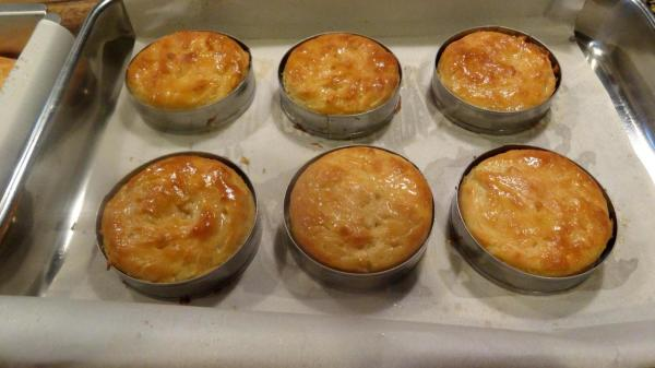 Remove the buns from the oven and let them sit in the pan for...