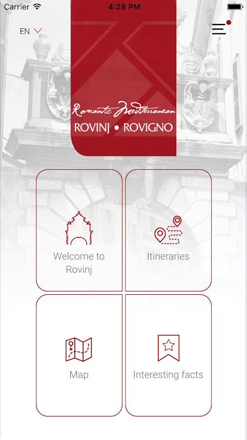 Rovinj – cultural and historical itineraries- screenshot