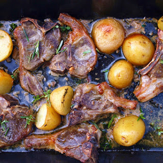 Roasted Lamb Chops With Potatoes Recipes.