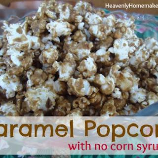 Caramel Popcorn (no corn syrup!)