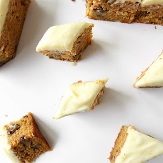Orange Carrot Cake Bars