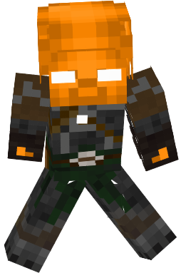 He Used To Be An Orange Steve.He Was The First Orange Steve.When They Made Him It Failed And He Got Corrupted.He Even Almost Killed Power Steve!But Then He Died But In His Is Dimension Thinking About What He Has Done Because Now He Can Think And Is Good Again.