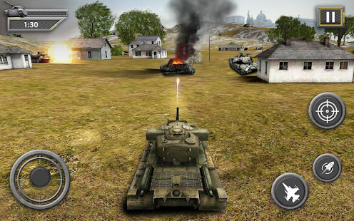 Game Heavy Army Tank Driving Simulator World War Blitz APK for Windows Phone