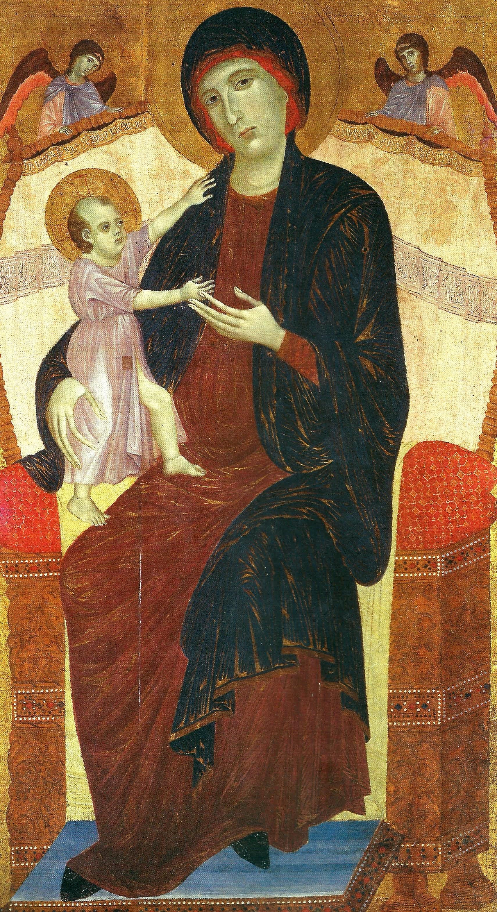 Duccio di Buoninsegna, Madonna Gualino, 1280-1283, Torino, Galleria Sabauda