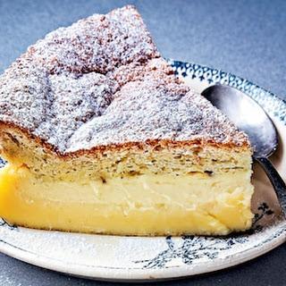 Magic Pistachio and Morello Cherry Cake Recipe