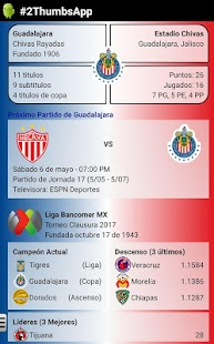 Soccer Mexican League- screenshot thumbnail