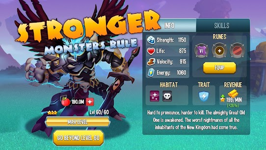 Monster Legends MOD 6.3.6 (Win With 3 Stars) APK 1