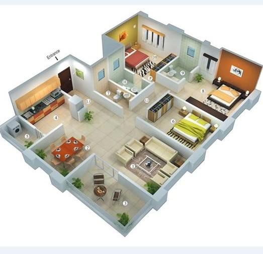 3D House Plan - Android Apps On Google Play
