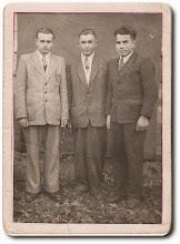 Photo: Od prawej: Sielawa Bolesław, Wacław Sekściński i ....