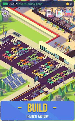 Télécharger Gratuit Car Industry Tycoon - Idle Car Factory Simulator  APK MOD (Astuce) screenshots 3