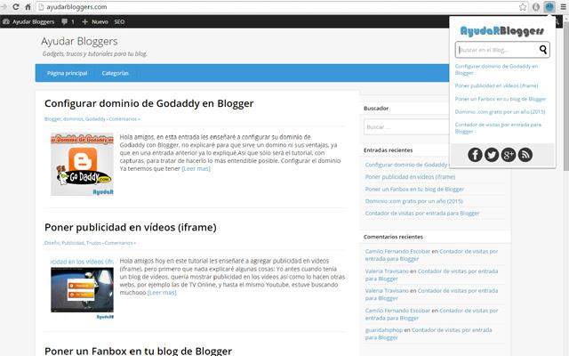 Ayudar Bloggers