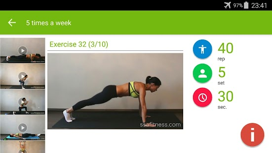 Free Exercises for Weight Loss- screenshot thumbnail