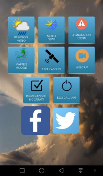 Meteotoscana App- screenshot