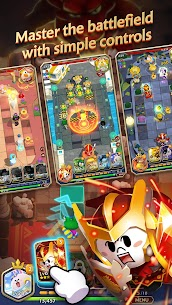 LINE BROWN STORIES : Multiplayer Online RPG Apk Download For Android and Iphone 4