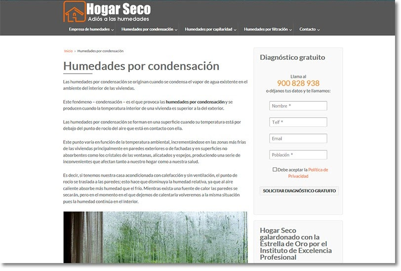 Conquista internet Diseño web Bilbao