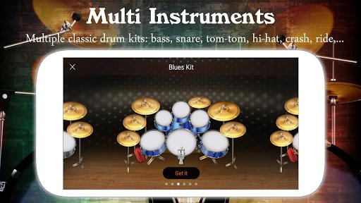 Drum Live: Real drum set drum kit music drum beat 4.1 screenshots 5