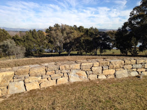 Photo: Wall below Canberra House - Pic from Roger
