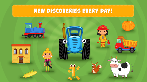 Blue Tractor: Learning Games for Toddlers Age 2, 3 1.0 screenshots 5
