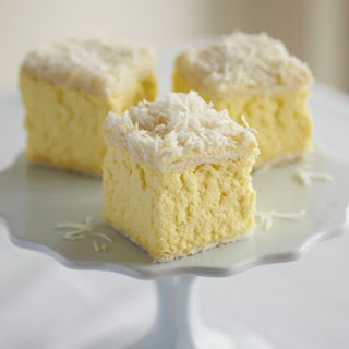 Vanilla Squares with Coconut
