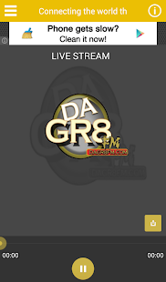 Dagr8fm Radio Station- screenshot thumbnail
