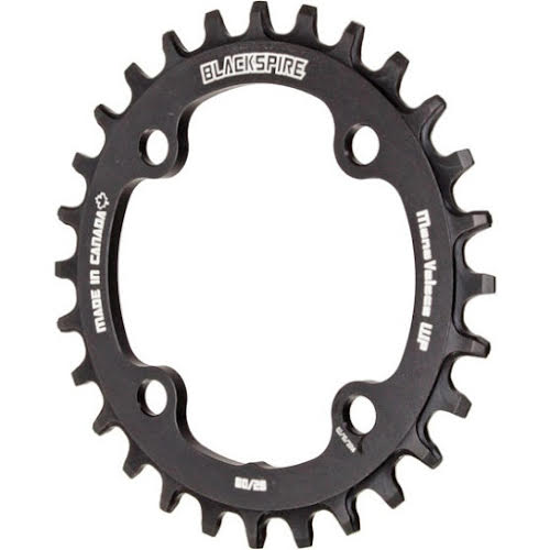 Blackspire Snaggletooth 28t Narrow-Wide Chainring 80BCD