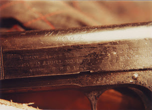 Photo: WILD BILL CODY GAVE AWAY COLT AUTOMATICS FOR FUN