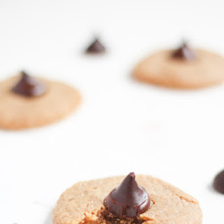 Peanut Butter Blossoms {Gluten-Free, Healthy}