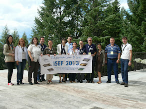 Photo: ISEF'2013 Organising Team and MK Participants and HRG Personel