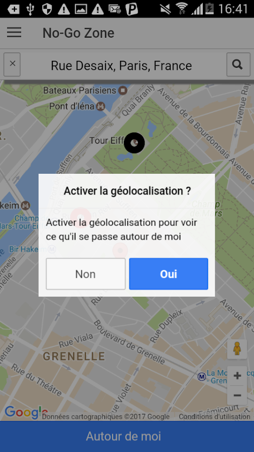 No-Go Zone – Capture d'écran