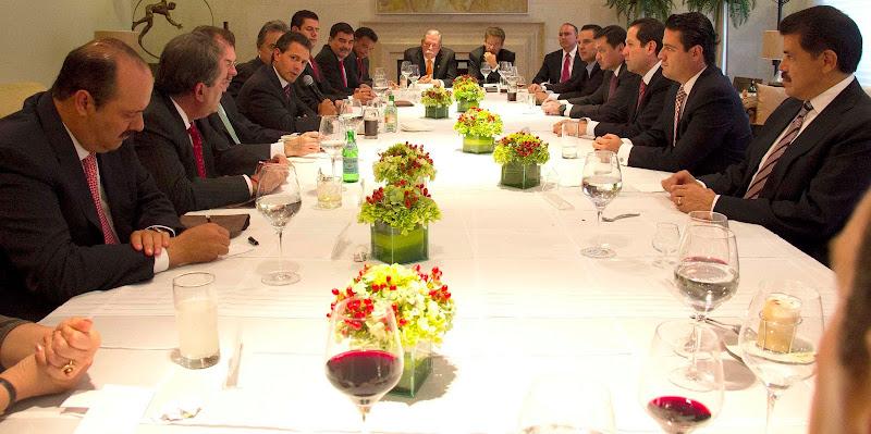 Photo: Reunión con Gobernadores   México, D.F. 8 de Agosto de 2012