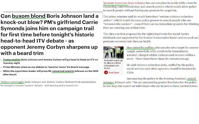 Boris Johnson: Adject Failure