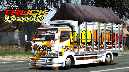 Mod Truck Bussid Full Strobo ss1
