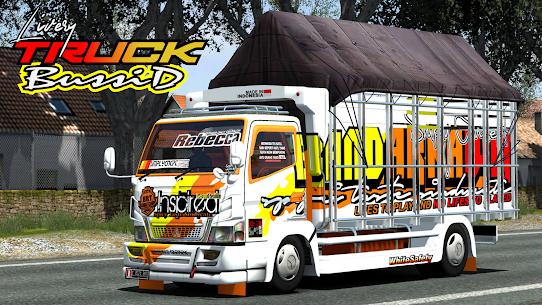 Mod Truck Bussid Full Strobo 1.1 Mod + Data Download 1