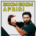 Boom Boom Afridi Cricket Game icon