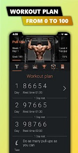 100 Pull Ups – Upper Body Workout, Men Fitness 2.9.0 Unlocked MOD APK Android 3