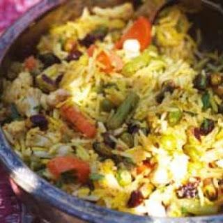 Gordon Ramsay's vegetable pilau rice