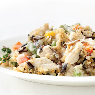 Turkey and Wild Rice Casserole Recipe