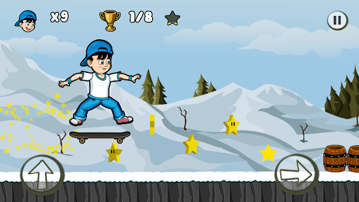 Skater Kid screenshot 3