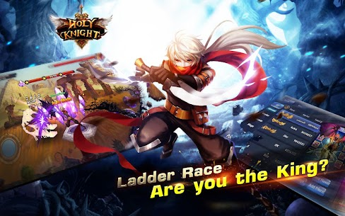 Holy Knight MOD 1.1.600 (God Mode/Massive Dmg/Weak Enemies) Apk 2