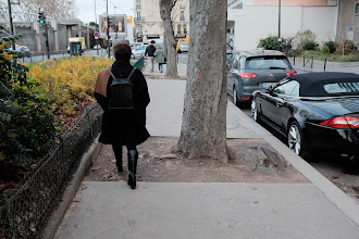 Photo: Sidewalks can be tricky to navigate