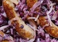 Italian Sausage, Apples And Red Cabbage-crockpot Recipe