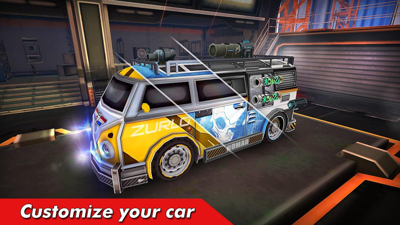 Overload - Multiplayer Cars Battle- screenshot