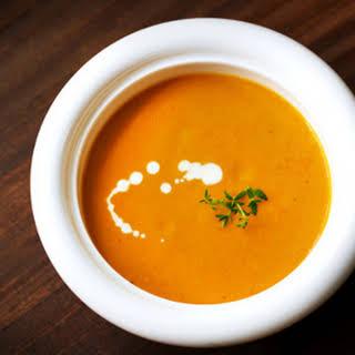 Thai Sweet Potato and Coconut Soup.