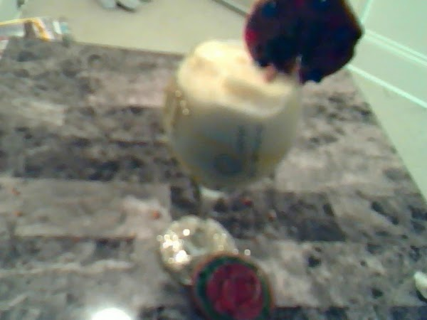 Lemon Ice In Crafty Goblet With Glitter Cookie Recipe