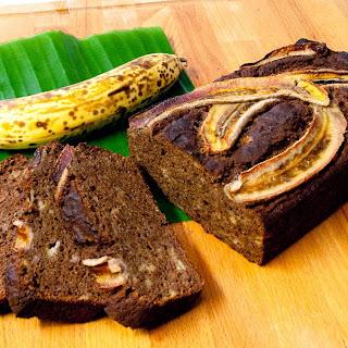 Nut Free Chocolate Banana Bread (Paleo, Grain Free & Gluten Free) Recipe
